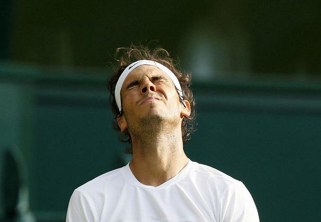 Zklamání ve tváři Rafaela Nadala bylo víc než patrné.