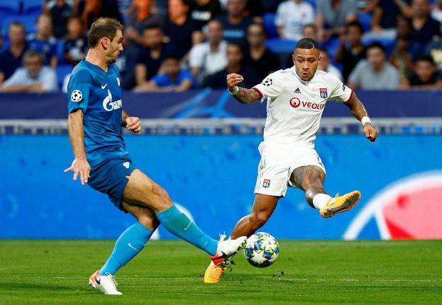 Lyon bojoval v úvodním zápase Ligy mistrů se Zenitem Petrohrad