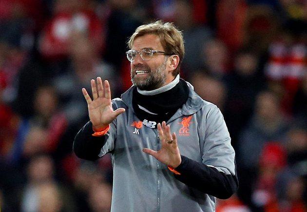 Manažer FC Liverpool Jürgen Klopp zápasy Reds hodně prožívá, jinak tomu nebylo ani při souboji s FC Porto.