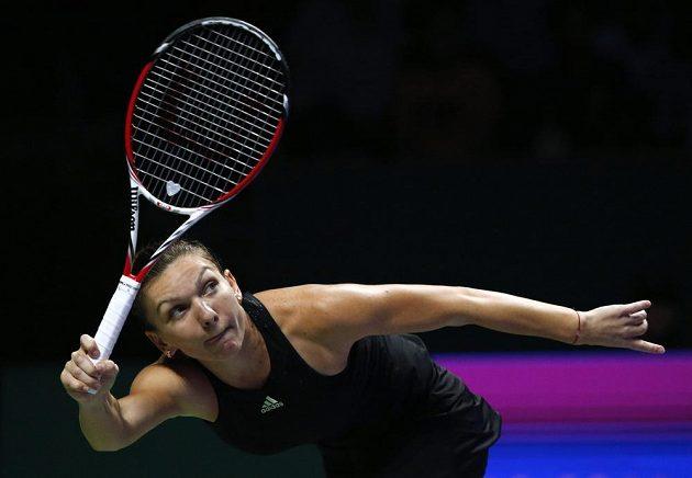 Rumunskou tenistku Simonu Halepovou zastihl Turnaj mistryň ve skvělé formě.