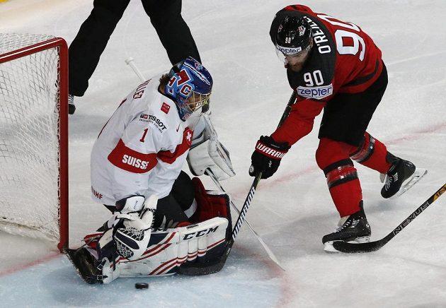 Kanada začala zostra se Švýcarskem, po semdi minutách vedla na MS 2:0.