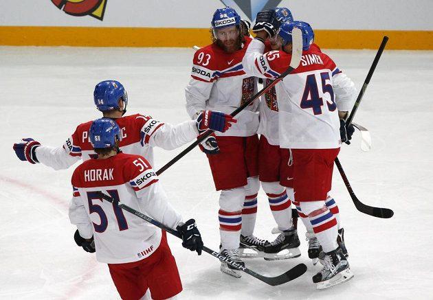 David Pastrňák vstřelil první gól na MS. Otevřel skóre s Itálií.