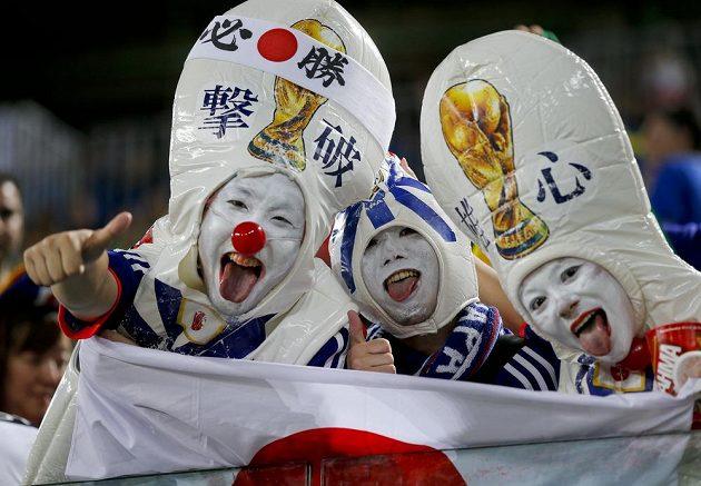 I po bezgólové remíze s Řeckem byli japonští fanoušci spokojení.