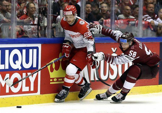 Dán Fredrik Storm a Guntis Galvins z Lotyšska.