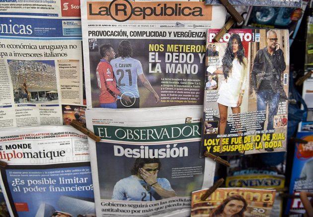 Také další jihoamerické listy se kauze Jara vs. Cavani hodně věnovaly.