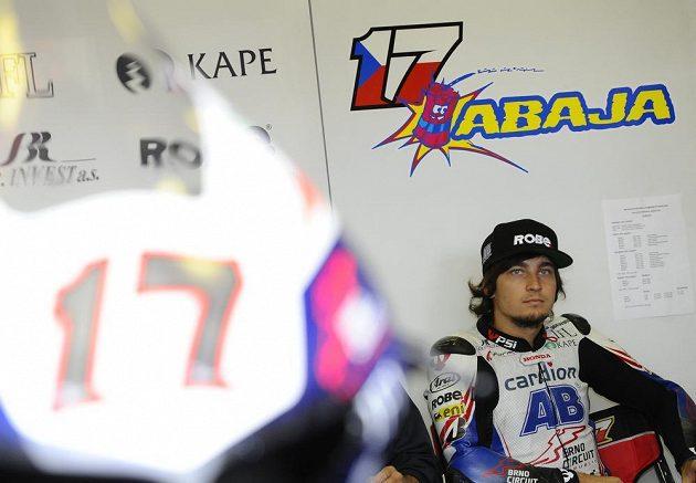 Karel Abraham při GP v Brně.