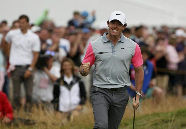 Rory McIlroy ze Severního Irska ovládl British Open v Hoylake.