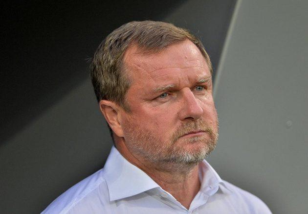 Zklamaný trenér Plzně Pavel Vrba.