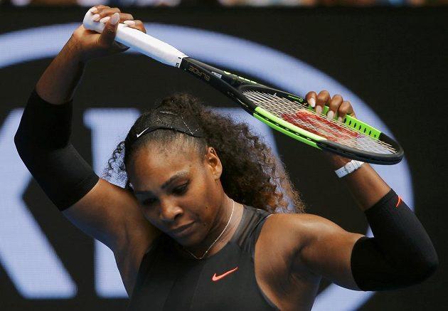 Serena Williamsová na Australian Open.