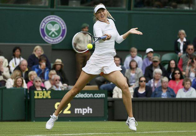 Maria Šarapovová se s turnajem rozloučila už ve druhém zápase.