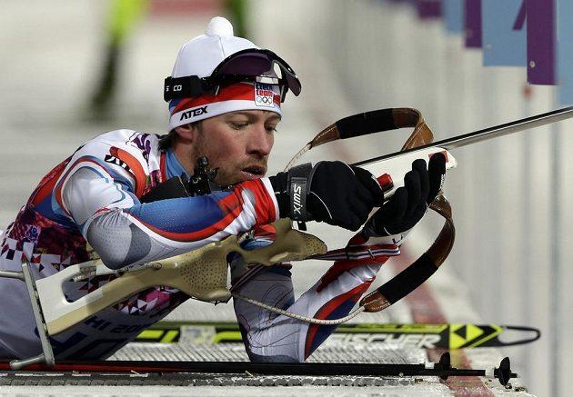 Jaroslav Soukup na střelnici cestou pro olympisjký bronz...