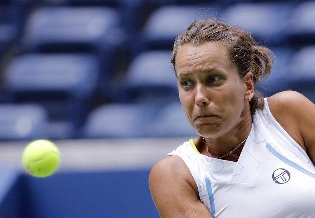 Česká tenistka Barbora Strycová dohrála US Open ve třetím kole.