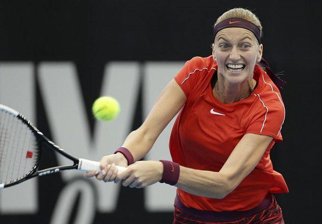 Petra Kvitová vstoupila do turnaje v Sydney vítězstvím.