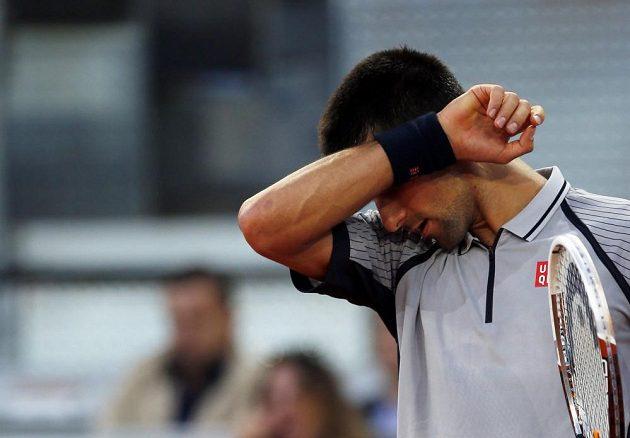 Srbský tenista Novak Djokovič prohrál na turnaji v Madridu s Bulharem Grigorem Dimitrovem.