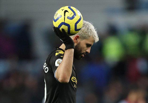 Lepší už je jen Messi. Argentinský fotbalista Sergio Agüero se řadí mezi nejlepší střelce světa.