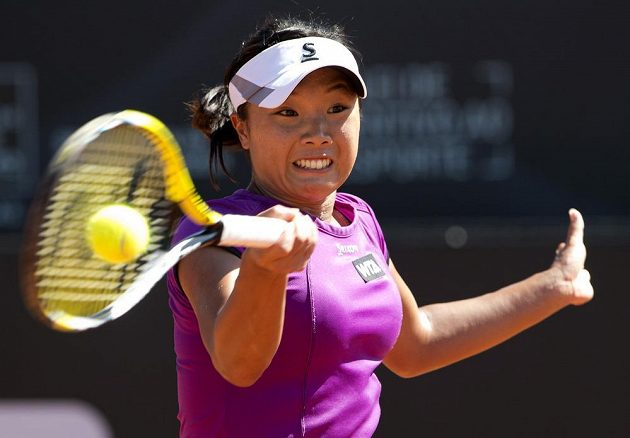 Kurumi Naraová z Japonska, vítězka turnaje v Riu a přemožitelka Kláry Zakopalové.