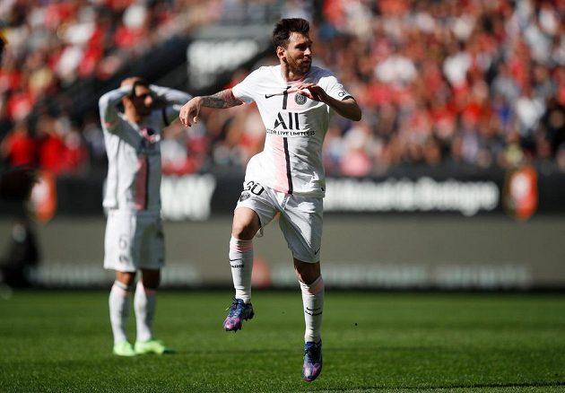 Ani Lionel Messi první prohru PSG v sezoné neodvrátil.