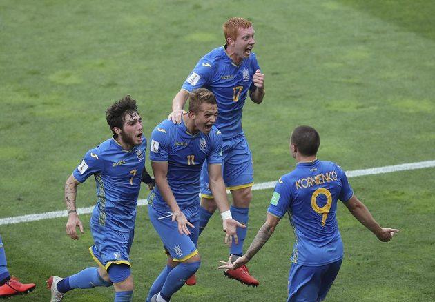 Ukrajina vyhrála poprvé v historii mistrovství světa fotbalistů do 20 let.