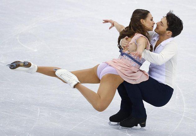 Německý pár Kavita Lorenzová - Joti Polizoakis je mezi dvacítkou tanečních párů, které bojují o medaile.