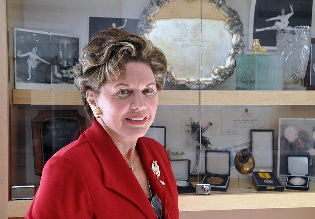 Zemřela jediná česká mistryně světa v krasobruslení Ája Vrzáňová (na archivním snímku z 11. května 2011).