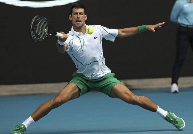 Novak Djokovic vyřadil ve 2. kole Australian open Japonce Ita.