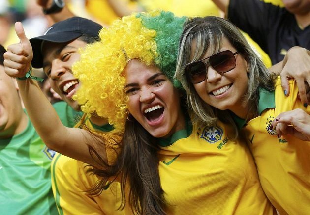 Brazilské fanynky ve varu