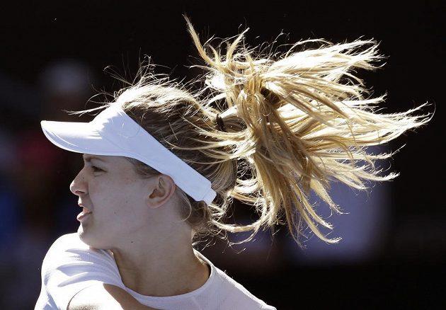 Kanadská tenistka Eugenie Bouchardová postoupila na Australian Open do dalšího kola.