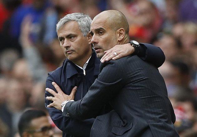 Přátelé z Josého Mourinha a Pepa Guardioly nikdy nebudou.