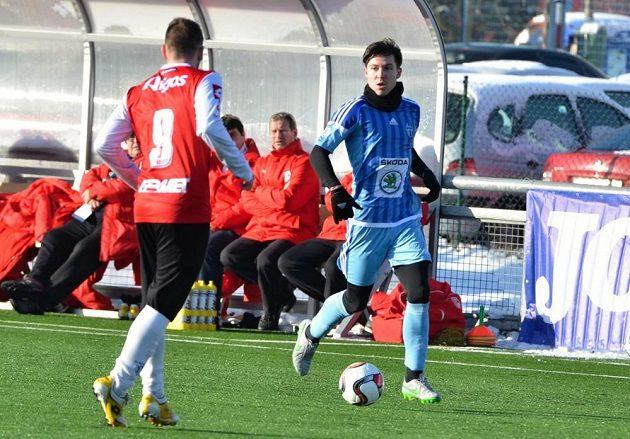 V dresu Mladé Boleslavi se představil také další nový muž Tomáš Přikryl (vpravo).
