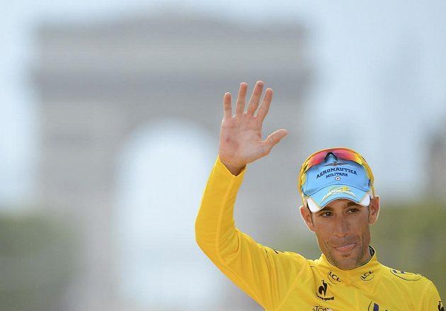 Spokojený vítěz Tour de France Vincenzo Nibali z Itálie.