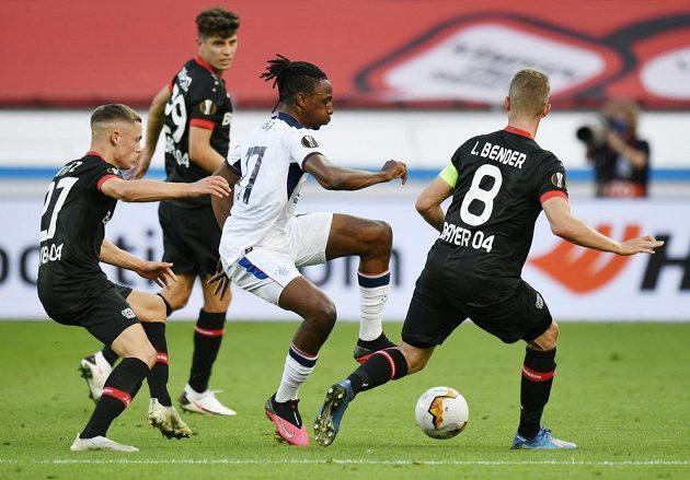 Bayer Leverkusen si přivezl z Glasgow pohodlný náskok