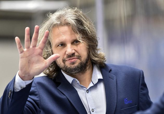 Trenér Olomouce Jan Tomajko.