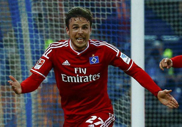 Nicolai Müller jásá, dal gól v prodloužení a zajistil tak Hamburku účast i v příštím ročníku první bundesligy.