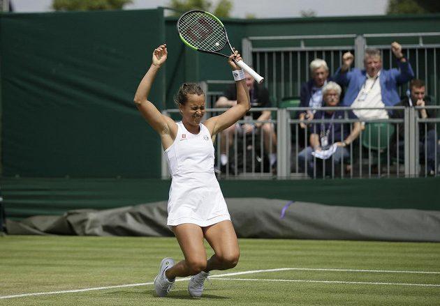 Barbora Strýcová slaví senzační postup do čtvrtfinále