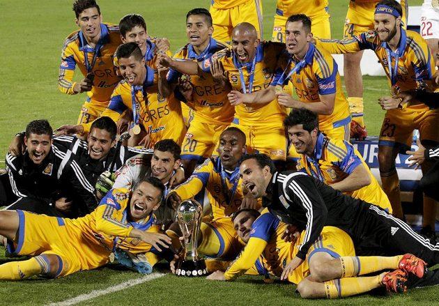 Fotbalisté Tigres UANL (Universidad Autónoma de Nuevo León) slaví čtvrtý mexický titul.