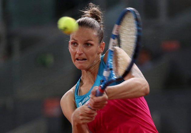 Česká tenistka Karolína Plíšková postoupila v Madridu už do osmifinále.