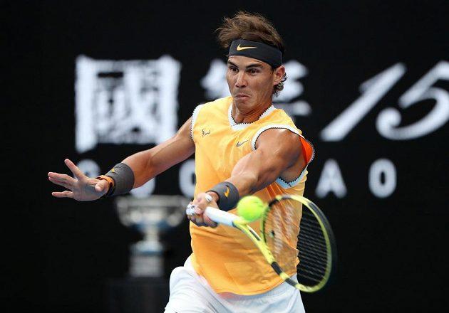 Rafael Nadal ve finále Australian Open 2019.