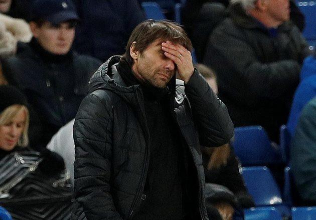 Trenér Chelsea Antonio Conte ví, že se jeho svěřencům zápas s Bournemouthem nepovedl.