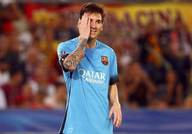 Lionel Messi na střelecký rekord Cristiana Ronalda neodpověděl, jeho Barcelona veze z Barcelony jen remízu.