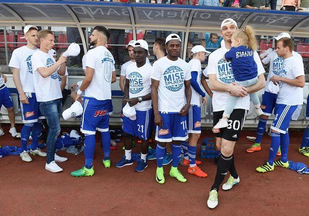 Olomouc slaví vítězství ve druhé lize a postup do nejvyšší soutěže