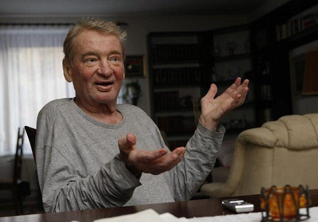 Jaroslav Holík během rozhovoru pro deník Právo v lednu roku 2012.