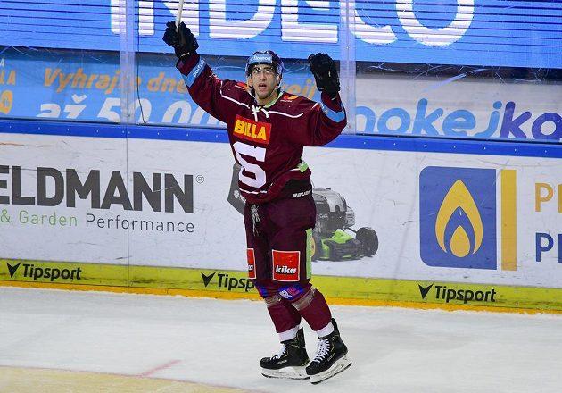 Autor prvního gólu Sparty Andrej Kudrna.