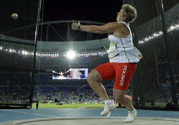 Anita Wlodarczyková v olympijském finále.