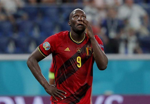Belgický útočný tank Romelu Lukaku se v utkání proti Finsku střelecky neprosadil. Jeho gól ve druhé půli zmařil ofsajd.