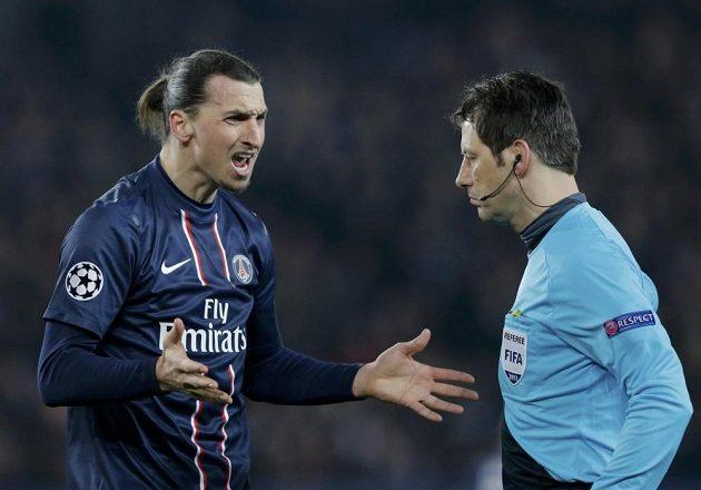 Wolfgang Stark neměl slitování ani s největší hvězdou Paříže Zlatanem Ibrahimovicem.