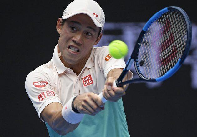 Kei Nišikori postoupil do třetího kola Australian Open.