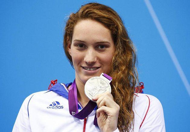 Camille Muffatová získala tři medaile na olympiádě v Londýně, z mistrovství světa měla čtyři cenné kovy.