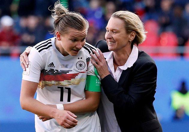 Fotbalistky Německa jsou na mistrovství světa po výhře nad Španělskem blízko postupu od osmifinále.