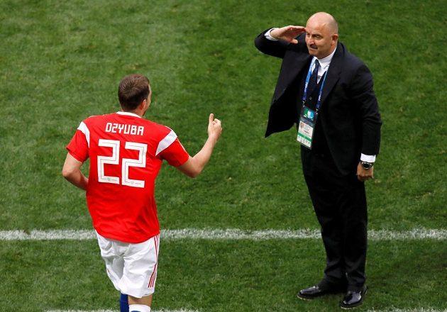 Ruští fotbalisté vstup do MS zvládli. Nad Saúdskou Arábií vyhráli v zahajovacím utkání šampionátu 5:0.
