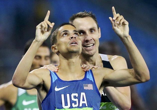 Američan Matt Centrowitz byl po drtivém finiši na trati 1500 metrů nejrychlejší.